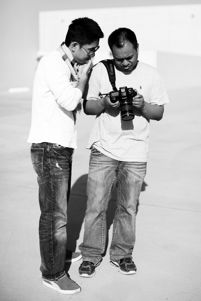 Brian Barreto with LUCIMA at a Fashion Photography Workshop