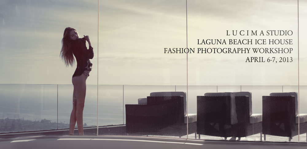 Laguna Beach Fashion Photography Workshop with Charles LUCIMA