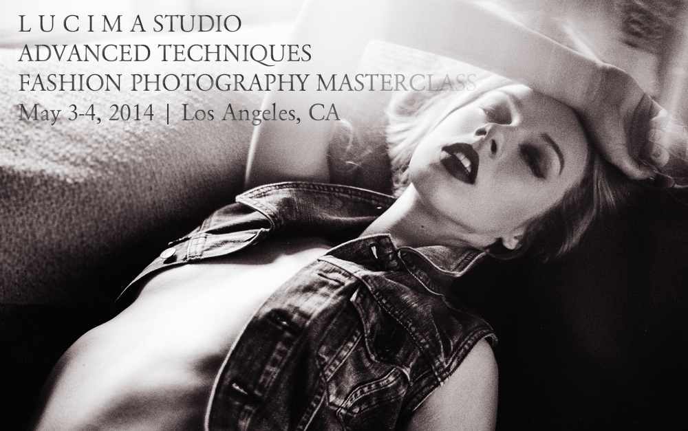 L U C I M A | Advanced Techniques Fashion Photography Masterclass